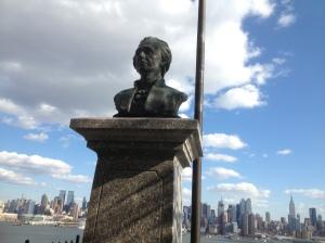 Hamilton Statue in Weehawken